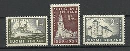 FINLAND FINNLAND 1929 Michel 140 - 142 * - Finland