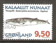004075 Greenland 1996 Whales 9K50 FU - Greenland