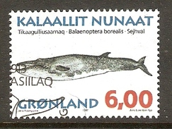 004077 Greenland 1997 Whales 6K FU - Greenland