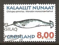 004078 Greenland 1997 Whales 8K FU - Greenland