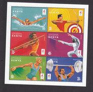 Kenya, Scott #665, Mint Hinged, Olympics, Issued 1996 - Kenya (1963-...)