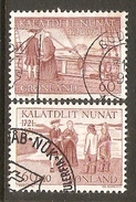 004085 Greenland 1971 Hans Egede Set FU - Used Stamps