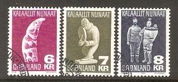 004087 Greenland 1978 Folk Art Set FU - Used Stamps