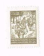 Stamp 0.50 Din Demokratska Federalna Yugoslavia - Neufs