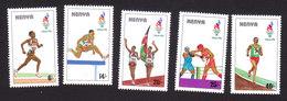 Kenya, Scott #682-686, Mint Hinged, Olympics, Issued 1996 - Kenya (1963-...)