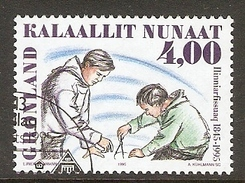 004101 Greenland 1995 Nuuk Training College 4K FU - Greenland