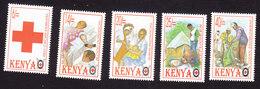 Kenya, Scott #687-691, Mint Hinged, Red Cross, Issued 1996 - Kenya (1963-...)