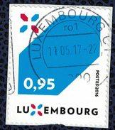 Luxembourg 2016 Oblitéré Used La Nouvelle Signature Du Luxembourg Sur Fragment - Usados