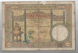VOIR 10 SCANNS LOT DE 5 BILLETS INDOCHINE/FRANCE/VIET NAM - VOIR 10 SCANNS RECTO VERSO - Banknotes