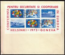 Romania 1973 / Helsinki Geneva European Security Conference - Idées Européennes