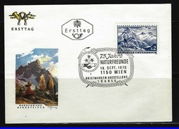 ÖSTERREICH - FDC Mi-Nr. 1341 Wandern Und Bergsteigen Stempel Wien (14) - FDC