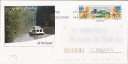 D269 - Entier / Stationery / PSE - PAP Charte De L'environnement, La Mayenne - Agrément 809-42K/06F393 - Enteros Postales