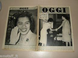 OGGI=1960/40=FARAH DIBA=QUEEN SIRIKIT THAILAND=AMALFI=CORNAREDO=MARIO RIVA= - Libros, Revistas, Cómics