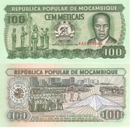 Mozambique 100 Escudos 1989 Pick 130.c UNC - Mozambique