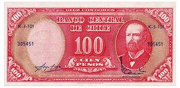 CHILE 10 CENTESIMOS ND(1960) Pick 127a Unc - Chile