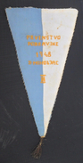 PRVENSTVO PODRAVINE, DONJI MIHOLJAC 1948  FOOTBALL CLUB, SOCCER / FUTBOL / CALCIO, OLD PENNANT, SPORTS FLAG - Habillement, Souvenirs & Autres