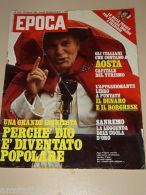 EPOCA=1980/1531=WILLIAM BURROUGHS=MEZZENILE=URSULA ANDRESS=ANTONIO BRAMBILLA= - Other Collections