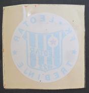 FK LEOTAR TREBINJE, BOSNIA  FOOTBALL CLUB, SOCCER / FUTBOL / CALCIO, OLD LABEL, STICKER, ETIQUETTE - Uniformes Recordatorios & Misc