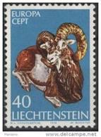 PIA - LIECHTENSTEIN - 1976  :  Europa  (Un  585-86)