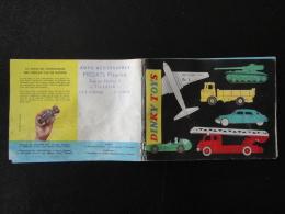 Catalogue Dinky Toys  Belgium 1961  13 X 9,5 Bon Etat - Autres