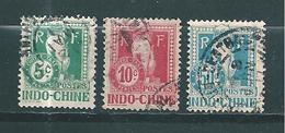 France Colonie Taxes D'Indochine  De 1908  N°7/8 + 13  Oblitérés - Impuestos