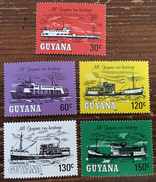 Guyana 1983 MH*   # 342/346 - Guyane (1966-...)