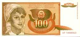 YOUGOSLAVIE 100 DINARA  Du 1-3-1990  Pick 105  UNC/NEUF - Yougoslavie