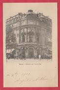Paris - Théâtre Du Vaudeville - 1900 ( Voir Verso ) - France