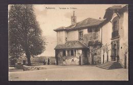 CPA SUISSE - AUBONNE - Terrasse Du Château TB PLAN EDIFICE Avec Petite Animation Devant + Oblitération Ambulant Verso - VD Waadt