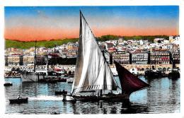 [DC10092] CPA - ALGERIA - ALGERI - VUE PRISE DE LA JETEE - Non Viaggiata - Old Postcard - Algeri