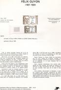 France-1979-document De La Poste- Félix Guyon, Chirurgien (n°22) - Documents De La Poste