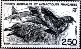 BIRDS-MARINE BIRDS-BROWN SKUA-TAAF-1993-MNH-D4-6