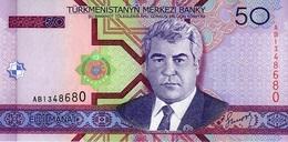 Turkmenistan 2005, 50 Manat (UNC) - CF2105 - Turkmenistán