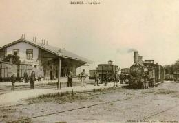 AL REP 41 - Trains En Gare - MAMERS - Sarthe 72 - M-St-C Et ETAT - REPRODUCTION - Mamers