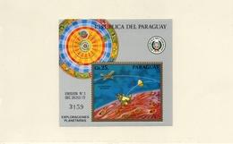 PARAGUAY / VIKING MARS USA Espace Bloc Dentelé Neuf MNH Cote 29.00 Vente 9.00 Euros