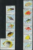 PH0628 Philippines 2013-14 Marine Fish 11v MNH - Philippines