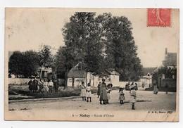 Carte Postale Moisy Route D'Orme CPA 1906 - Francia