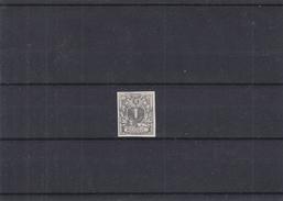 Belgique- Essai Non Adopté Du 1c - Type 1 - Sg - Repertorié Cat Gruben - Proofs & Reprints