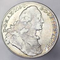 THALER 1774 GERMANIA GERMANY BAVARIA MAXIMILIAN III 1745-1777 KM 519.1 ARGENTO SILVER #1555 - Taler Et Doppeltaler