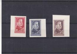 Hongrie - Yvert 918 / 19  ** - MNH - NON Dentelés - Stalin