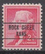 USA Precancel Vorausentwertung Preos Locals Kansas, Rock Creek 748