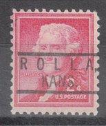USA Precancel Vorausentwertung Preos Locals Kansas, Rolla 801