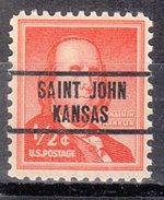 USA Precancel Vorausentwertung Preos Locals Kansas, Saint John L-1 TS