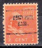 USA Precancel Vorausentwertung Preos Locals Kansas, Saint Paul 704
