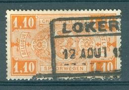"""BELGIE - TR 147 - Cachet  """"LOKEREN"""" - (ref. 12.529) - Chemins De Fer"""