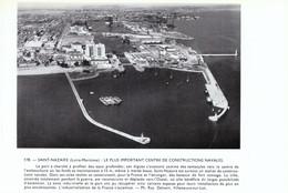 1956 - Iconographie - Saint-Nazaire (Loire-Atlantique) - Vue Aérienne Du Port - FRANCO DE PORT - Vecchi Documenti