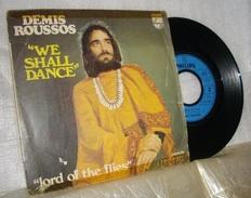 1971 - Disque 45 T -  ' We Shall Dance ' Par Démis Roussos - Disco, Pop
