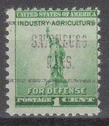USA Precancel Vorausentwertung Preos Locals Kansas, Savonburg 723