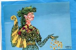 """LESOURT-""""les Fruits De La Chance""""- D'après ARCHIMBOLDI- Années 1963 -éditionDufournet - Illustrateurs & Photographes"""