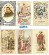 Santino S.filippo Neri S.zita Vergine S.tommaso D'aquino (NR°6 Santini Vedere Descrizione) - Santini